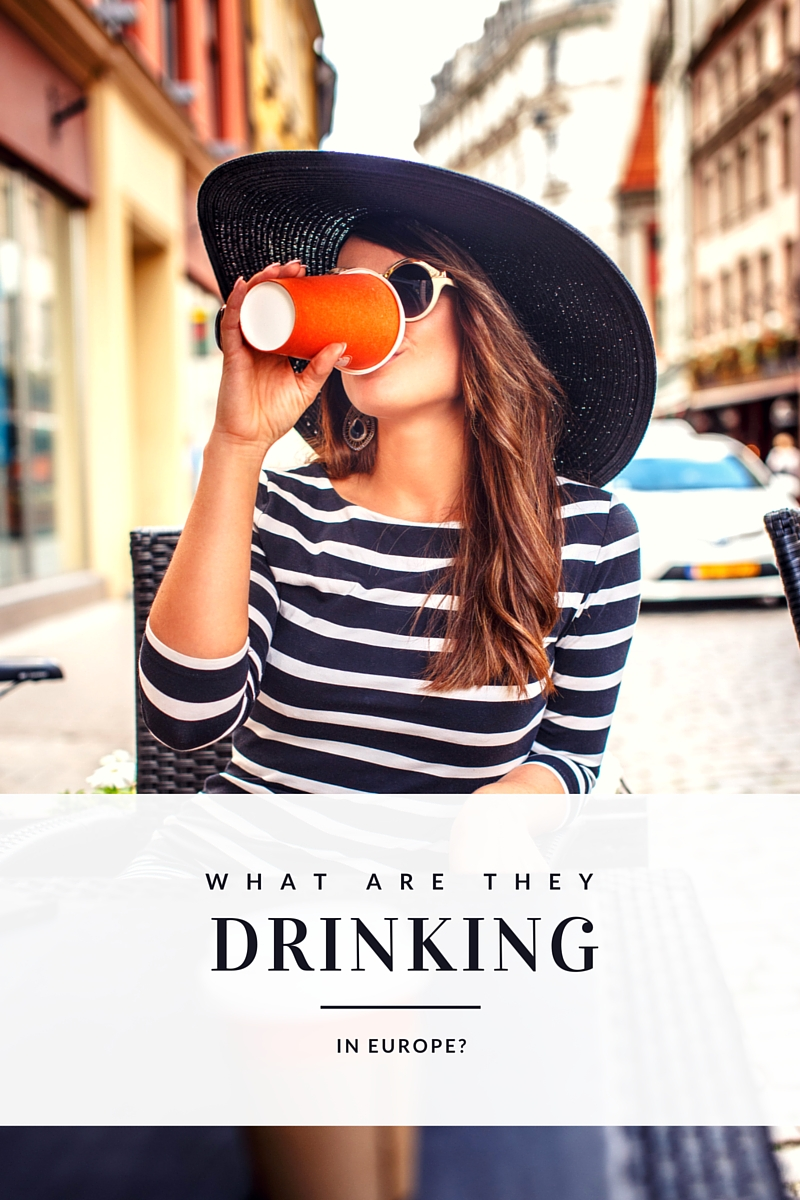 types of drinks in europe