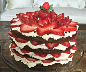 chocolate-strawberry-layer-cake