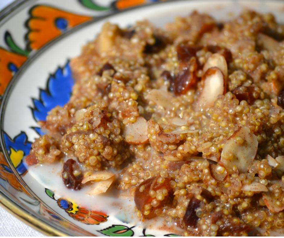cinnamon quinoa recipe with dates