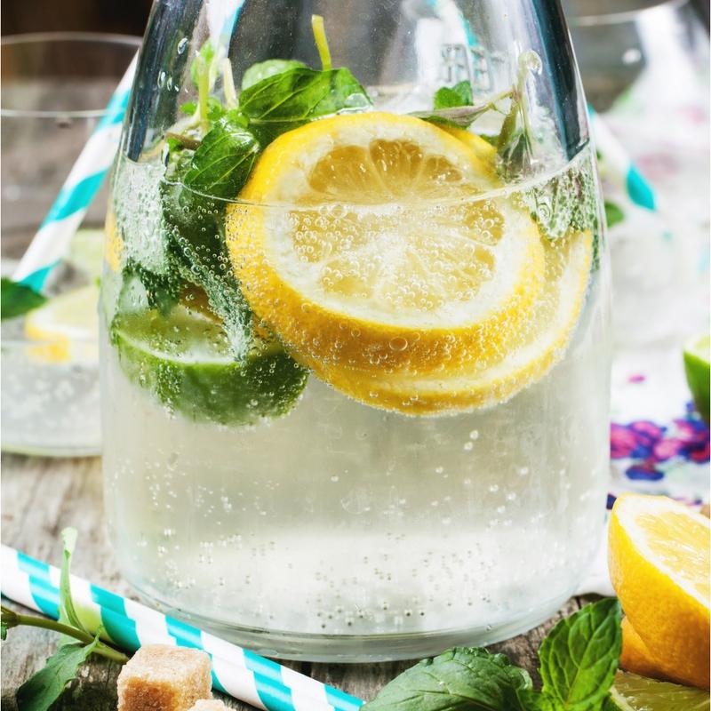 Sparkling Ginger Lemonade Recipe