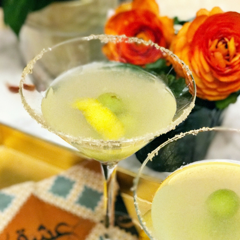 lemon drop martini with recipe