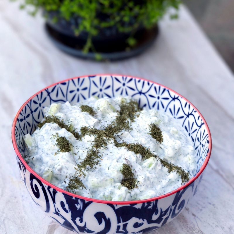 PERSIAN CUCUMBER YOGURT dip