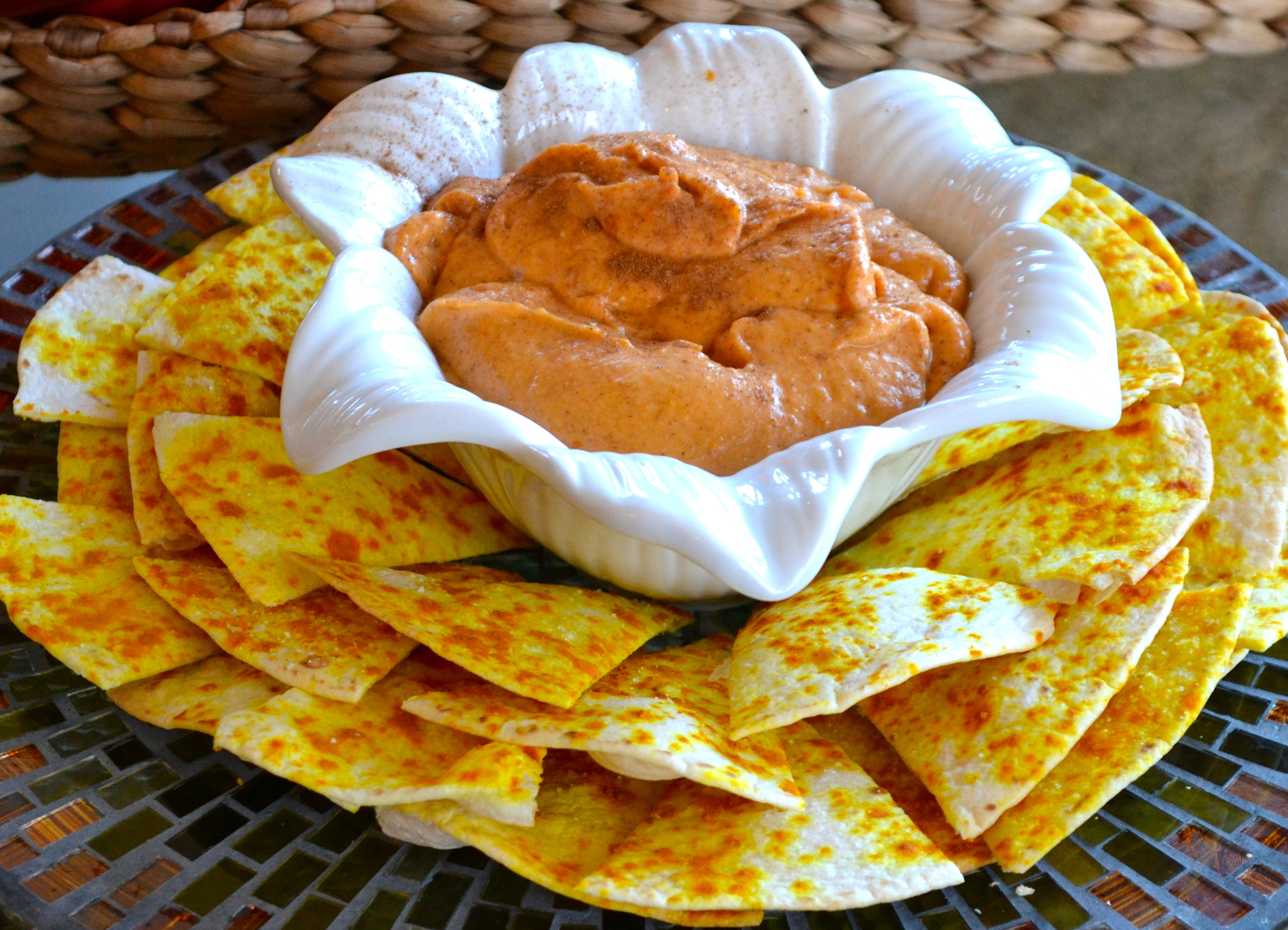 how to make creamy pumpkin dip