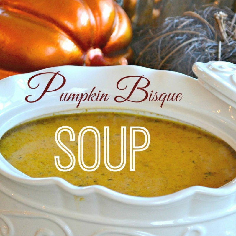 pumpkin bisque recipe, learning how to make pumpkin soup