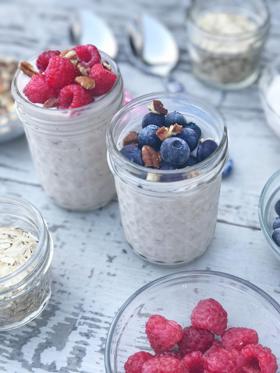 easy breakfast jars for quick breakfasts
