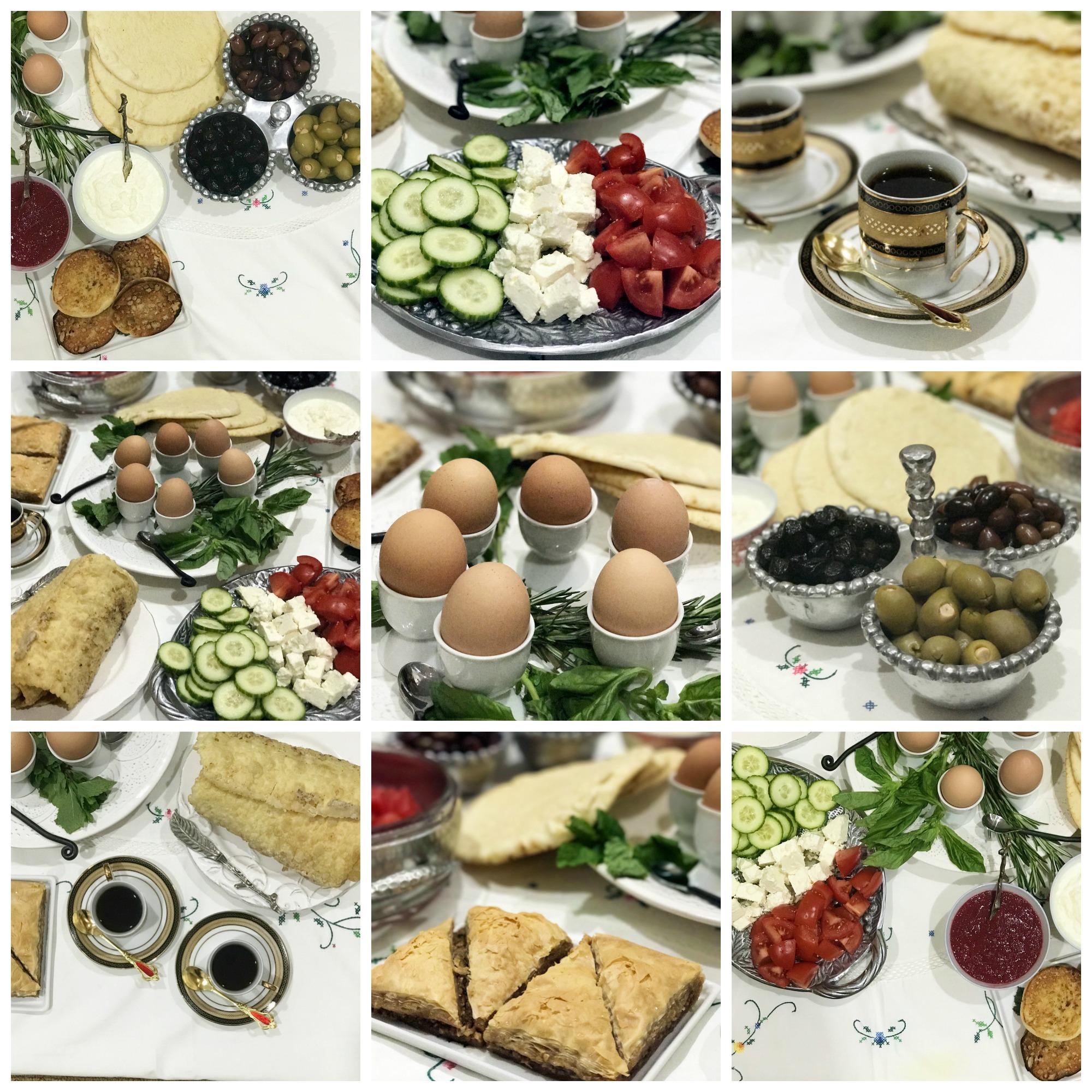 turkish breakfast foods