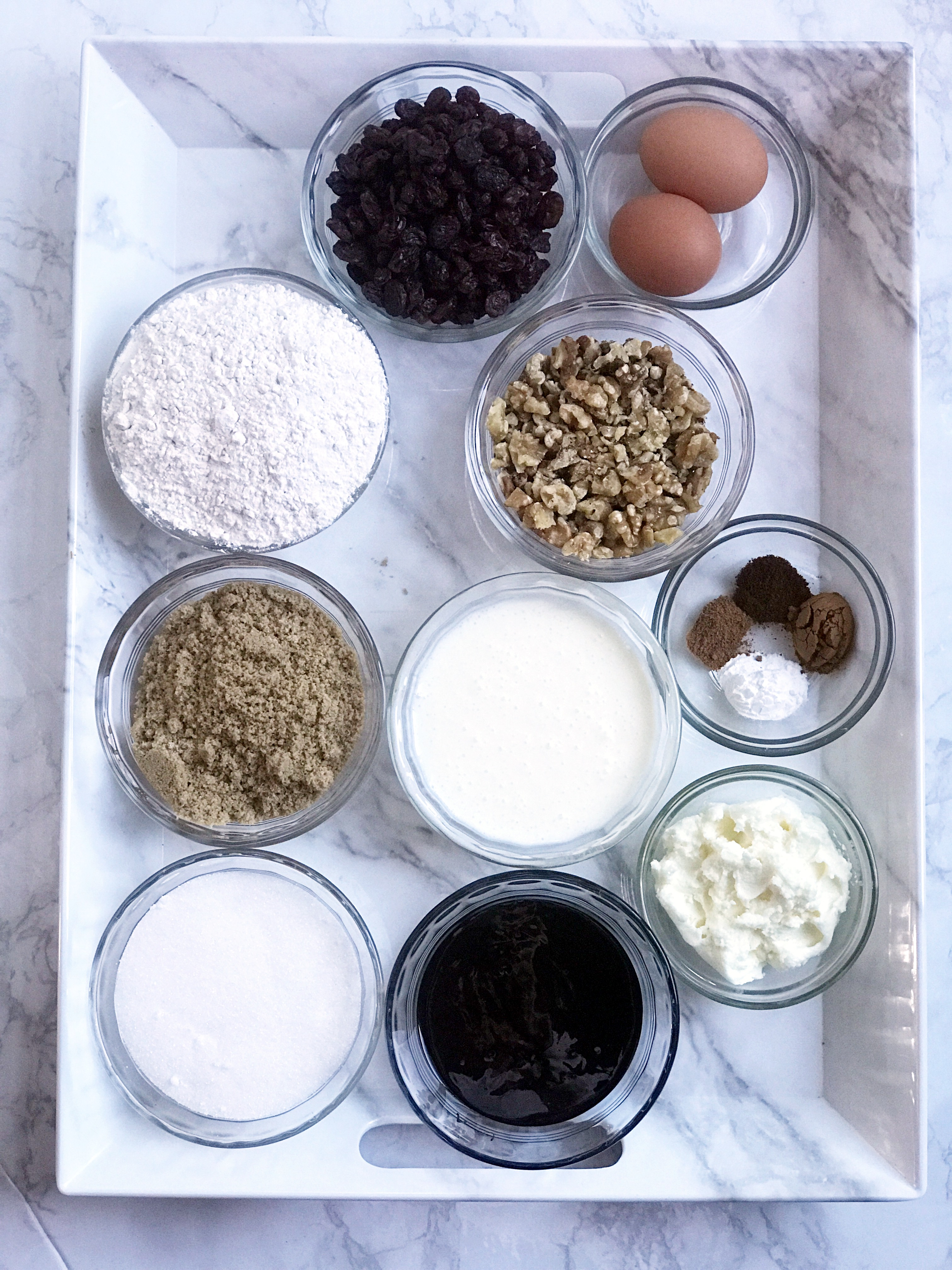 ingredients needed for molasses cake