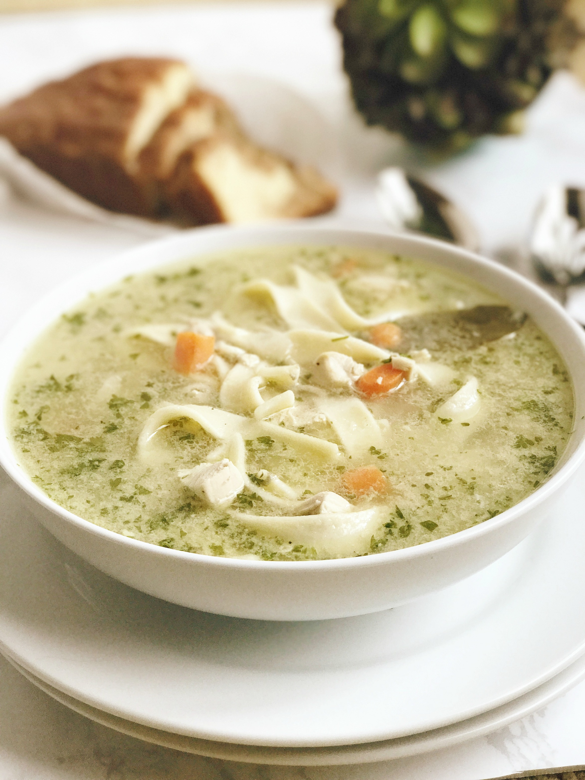 NOW THIS IS CHICKEN NOODLE SOUP Culinary Butterfly Recipe