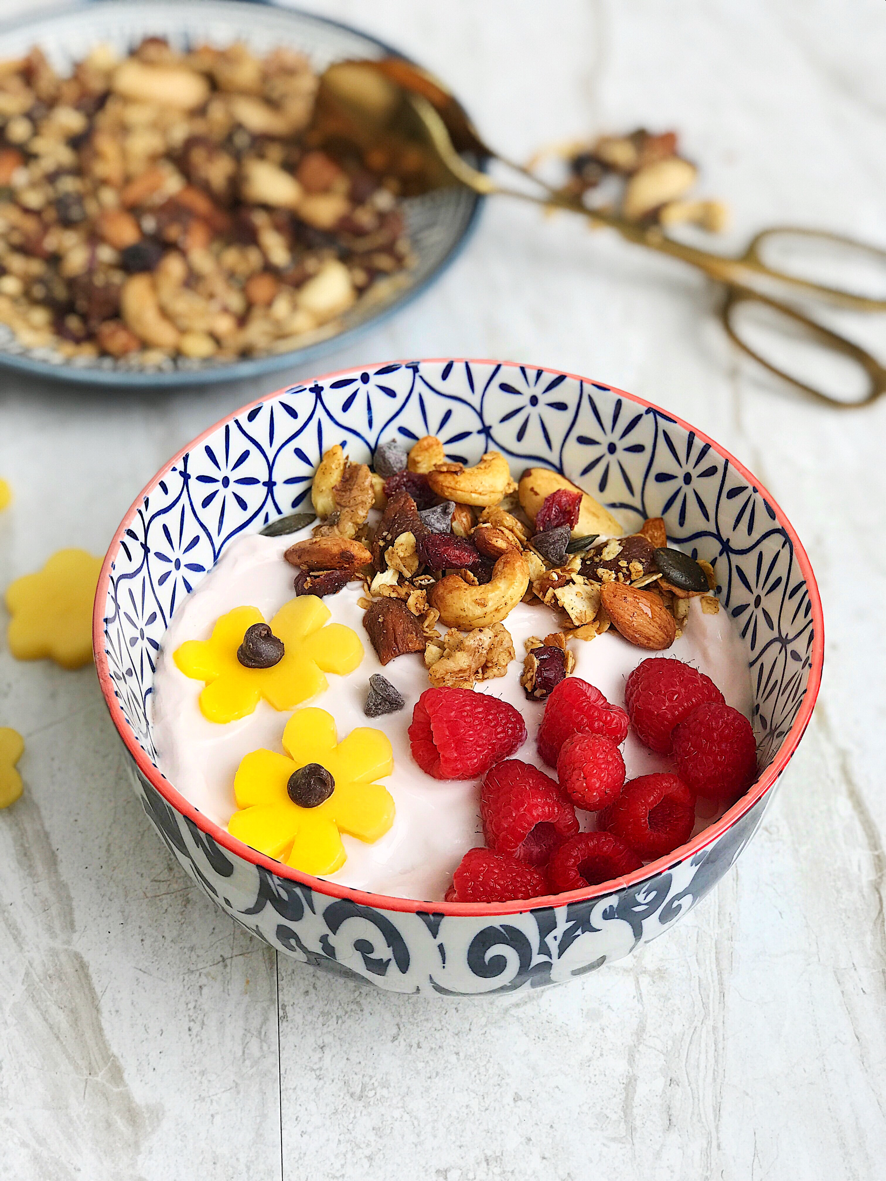 Energy blast breakfast and snack granola Culinary Butterfly recipe