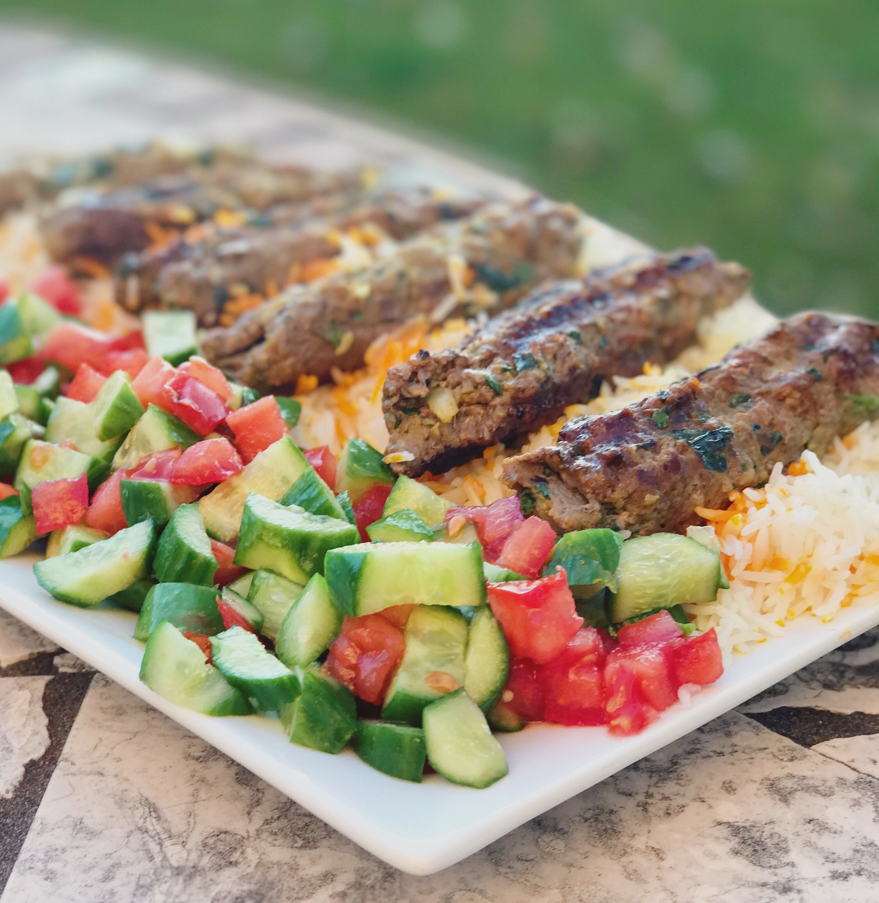 Persian Kabob Koobideh Culinary Butterfly Recipe