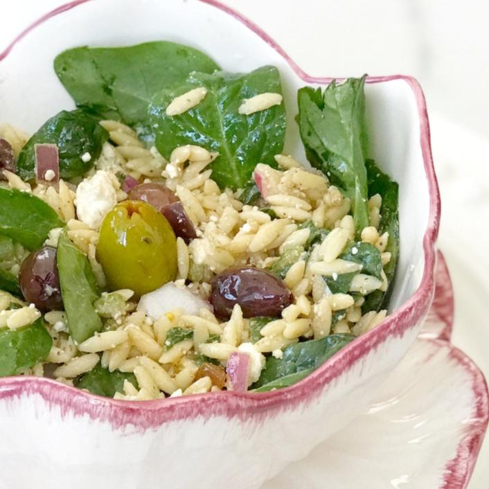 simple greek salad recipe