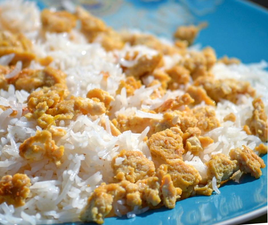 tamari scrambled eggs