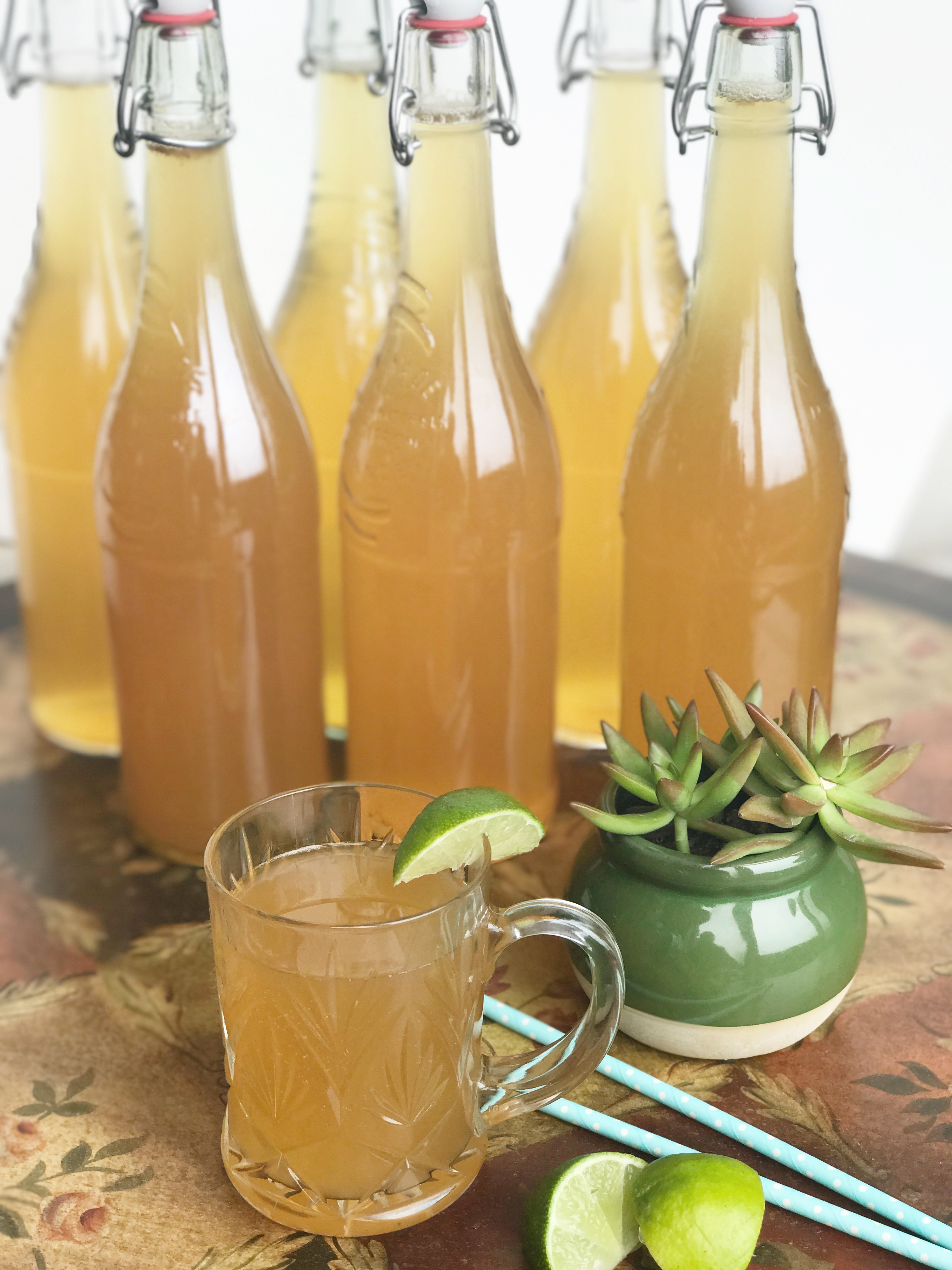how to make kombucha from scratch