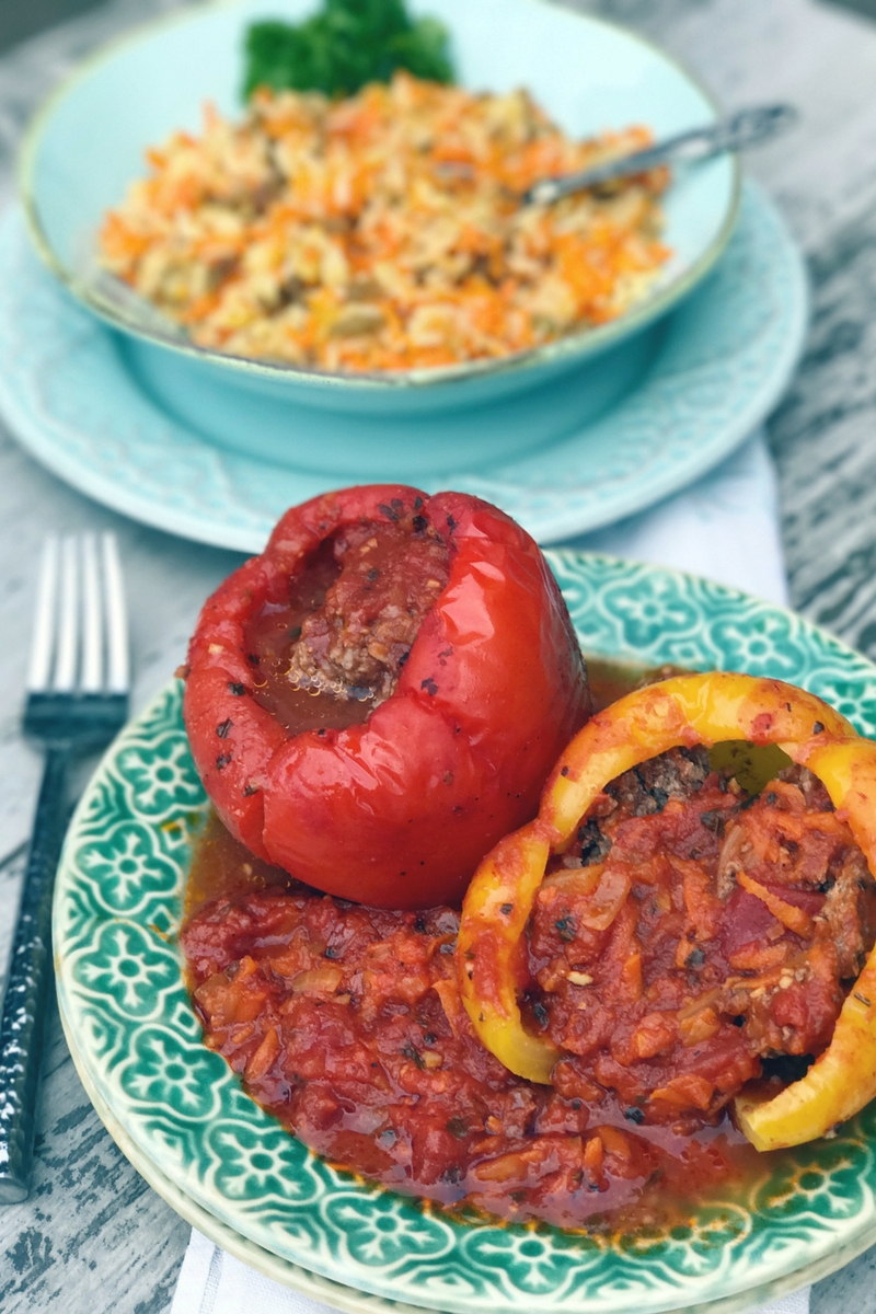 Russian stuffed peppers recipe