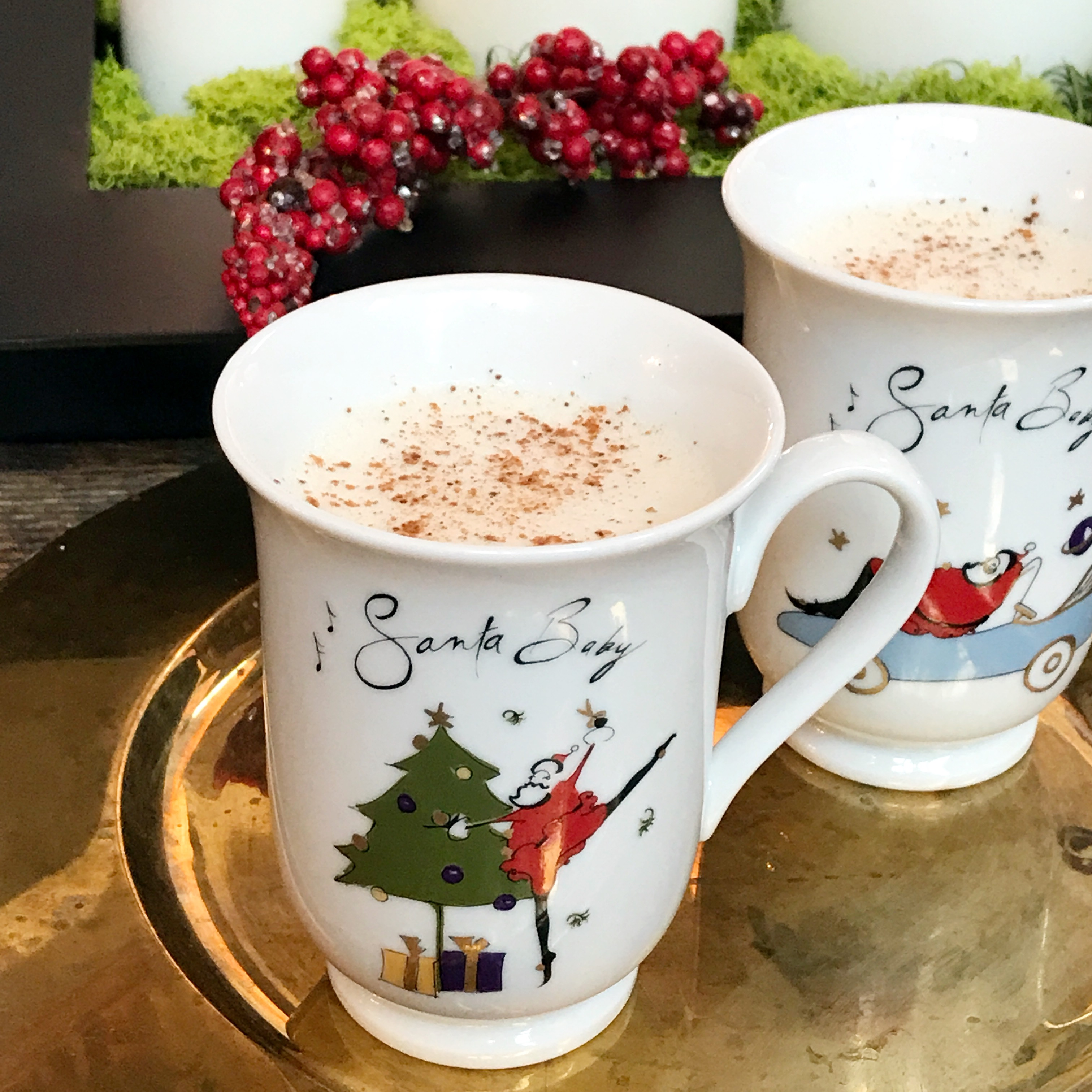 Classic hot buttered rum, one of the best traditional holiday drinks