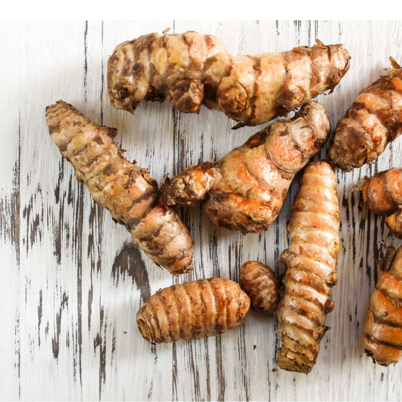 raw ginger for a healthy smoothie