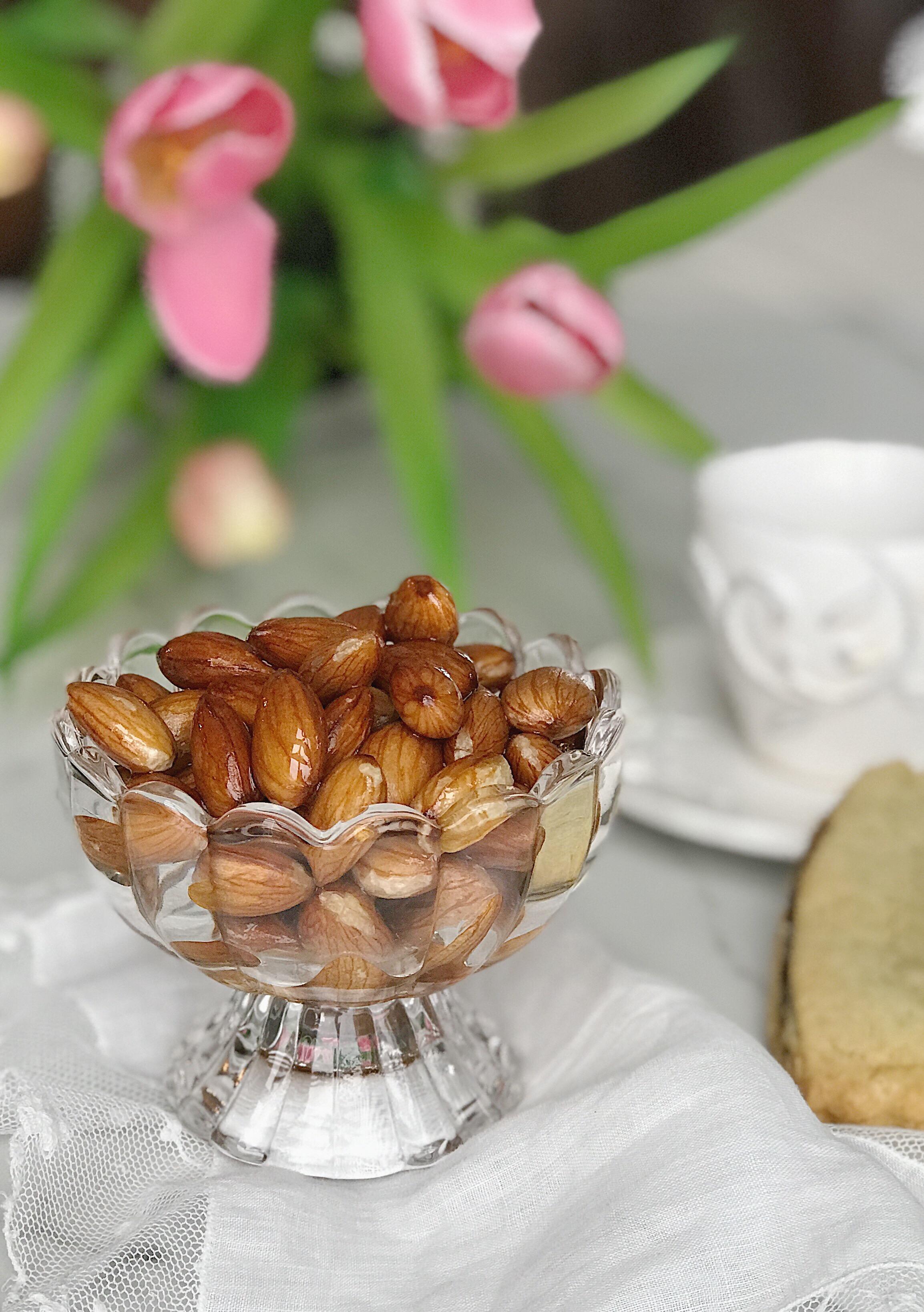 healthy sweet almonds recipe