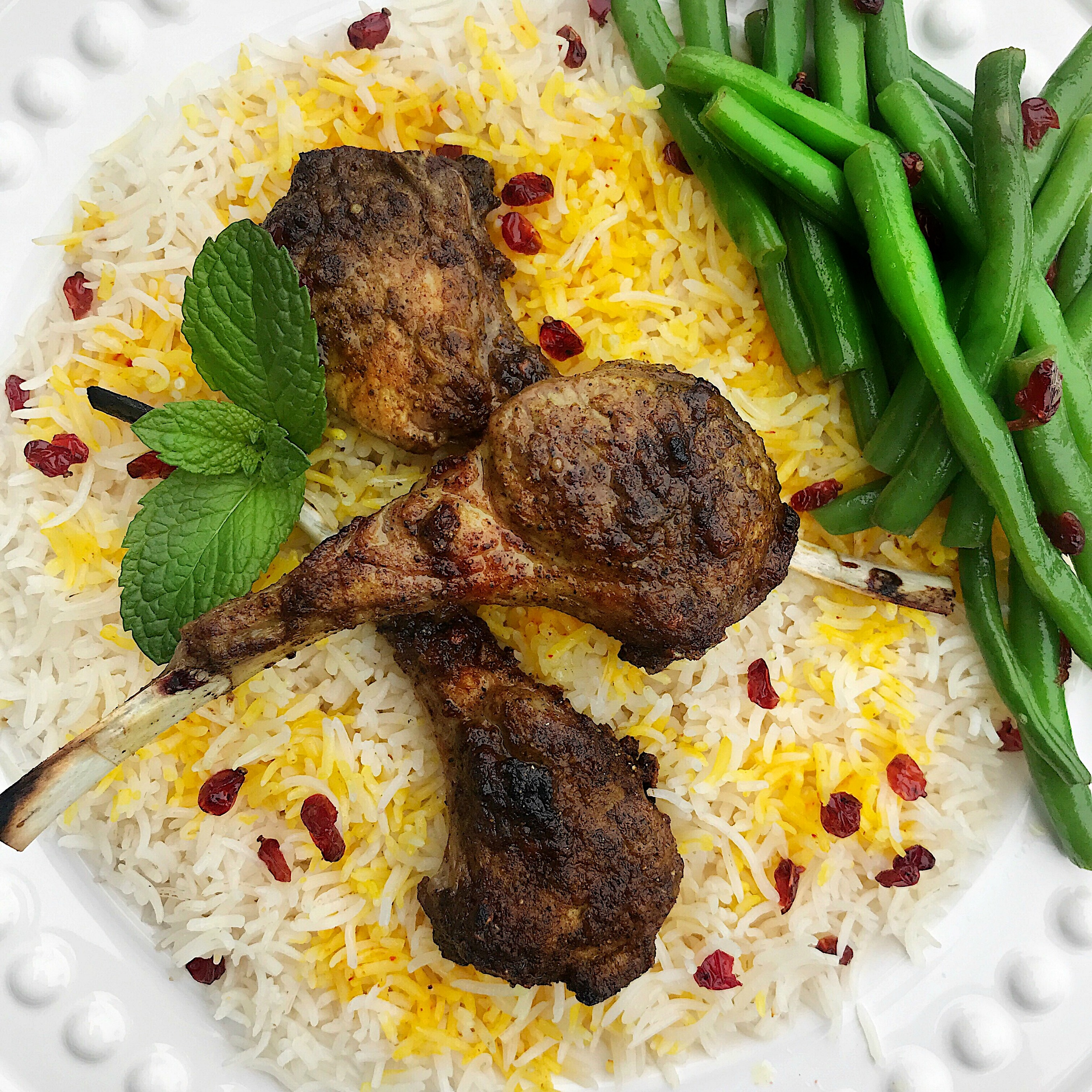 Moroccan Lamb Chops recipe