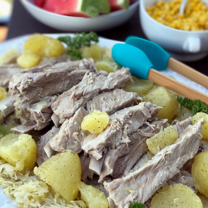 German Spareribs and Sauerkraut recipe
