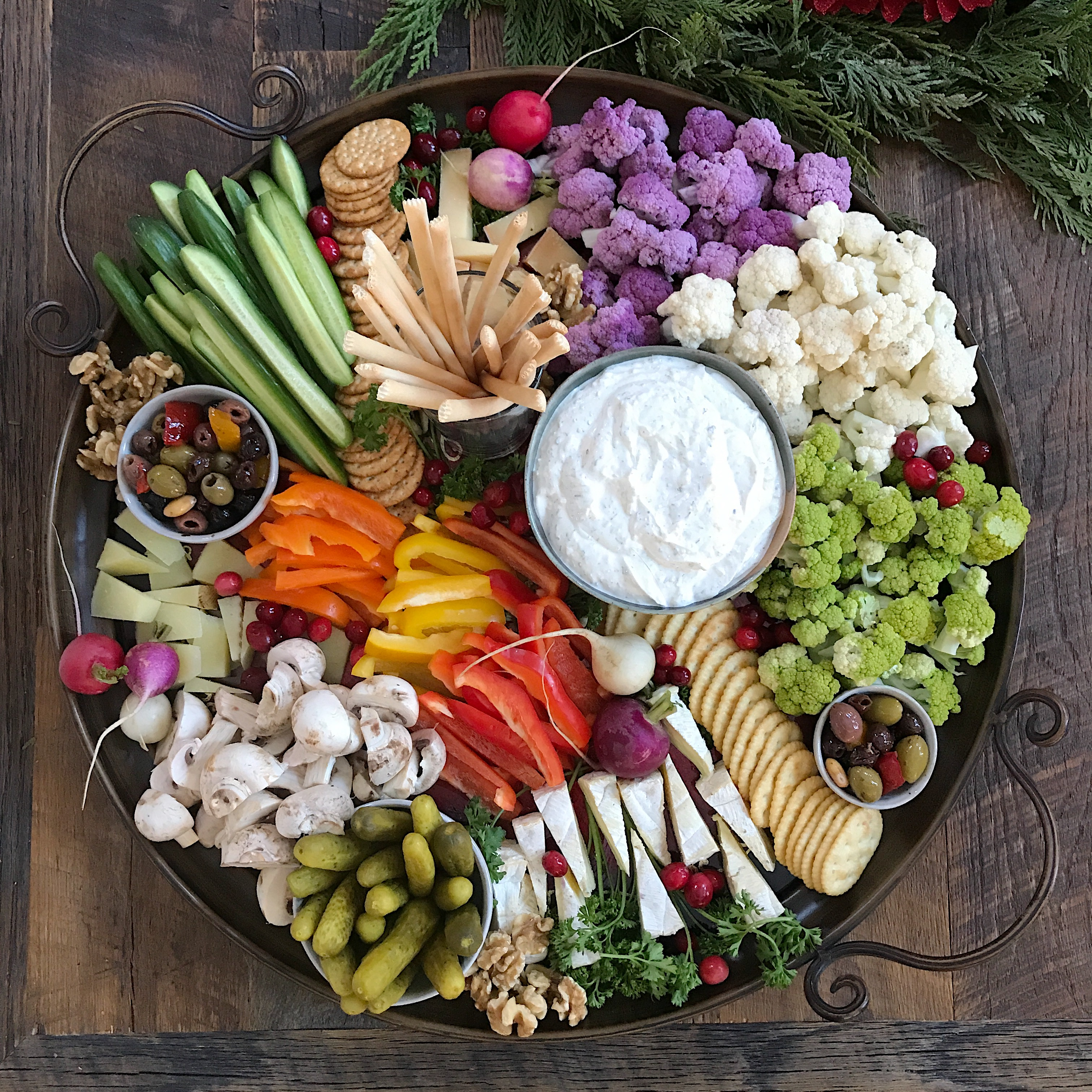 How To Create A Beautiful Crudites Platter Culinary Butterfly